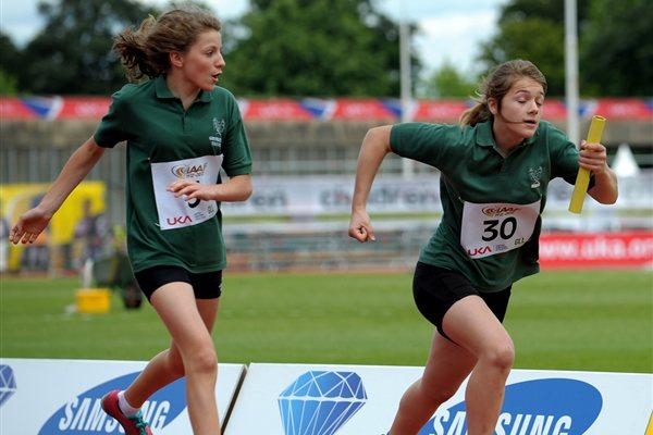Kids' Relay at Crystal Palace - IAAF Centenary (Mark Shearman)