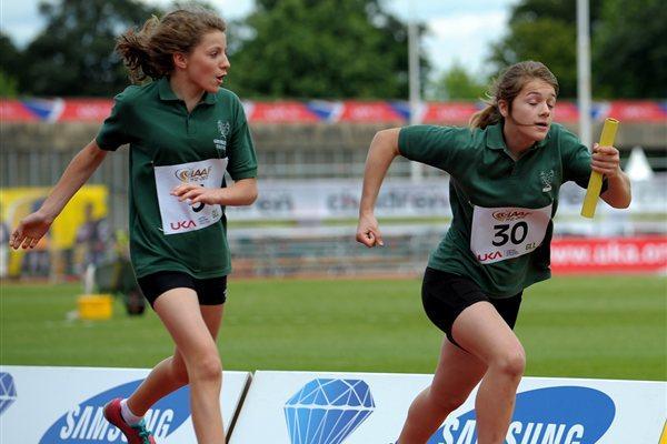 Kids' Relay at Crystal Palace - IAAF Centenary (Mark Shearman)