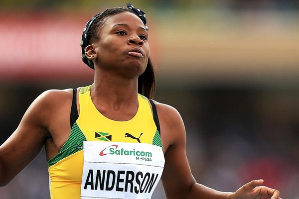 Jamaican sprint hurdler Brittany Anderson (Getty Images)