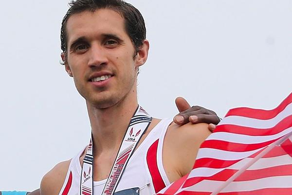 US distance runner Ryan Hill (Getty Images)