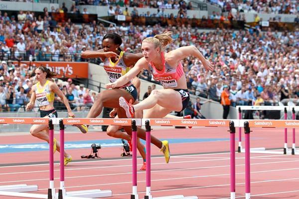 Sally Pearson at the 2013 IAAF Diamond League meeting in London  (Victah Sailer)