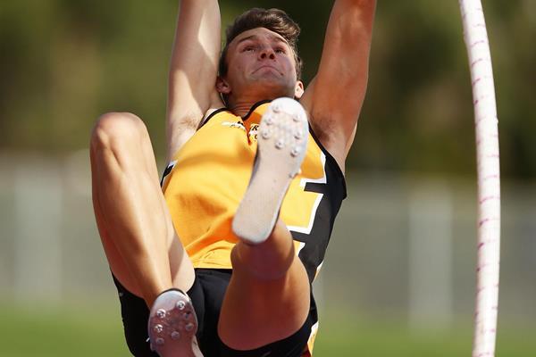 Australian pole vaulter Kurtis Marschall (Getty Images)