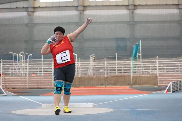 Gong Lijiao in Beijing (Chinese Athletics Association)
