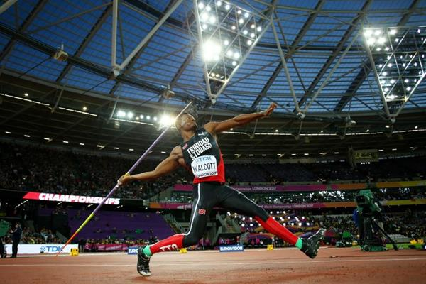 Keshorn Walcott in javelin qualifying at the IAAF World Championships London 2017 (Getty Images)