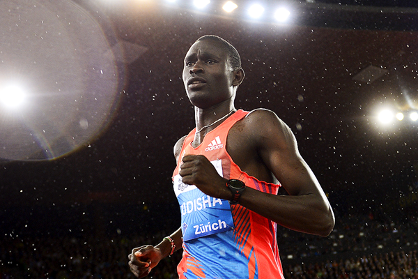 David Rudisha in action in the 800m (AFP / Getty Images)