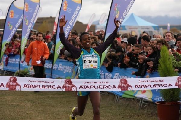 Genzebe Dibaba Takes a big win in Atapuerca (Alfambra Fundación ANOC)