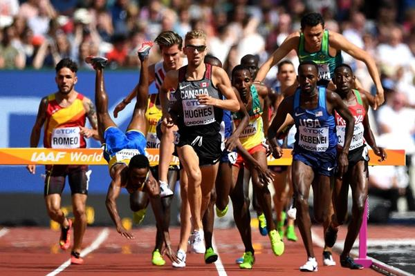 The men's 3000m steeplecase heats at the IAAF World Championships London 2017 (Getty Images)