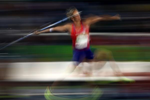 Barbora Spotakova in the javelin at the Rio 2016 Olympic Games (Getty Images)
