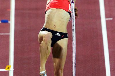 Yelena Isinbayeva in Shanghai (Getty Images)