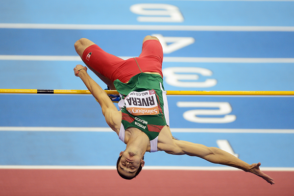 Mexican high jumper Edgar Rivera (Getty Images)