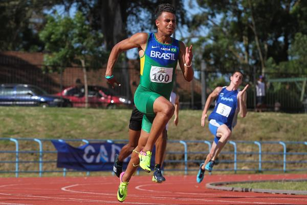 Vinicius Rocha Moraes of Brazil at the 2016 South American Youth Championships (Oscar Muñoz)