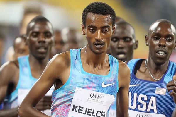 Ethiopian distance runner Yomif Kejelcha (AFP / Getty Images)