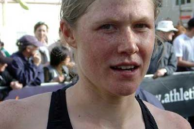 Kate McIlroy after her victory in Wellington (Tomo Šarf)