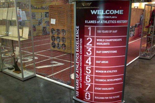 Welcome - IAAF Centenary Historic Exhibition (Chris Turner / IAAF)