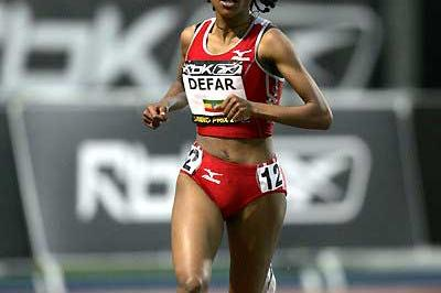 Meseret Defar World record bound in New York (Victah Sailer)