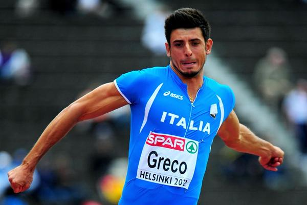 Daniele Greco at the European Championships in Helsinki (Getty Images)