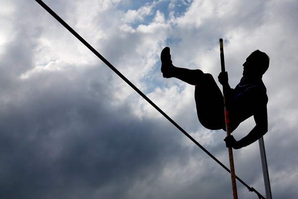 Action from the pole vault (Getty Images)