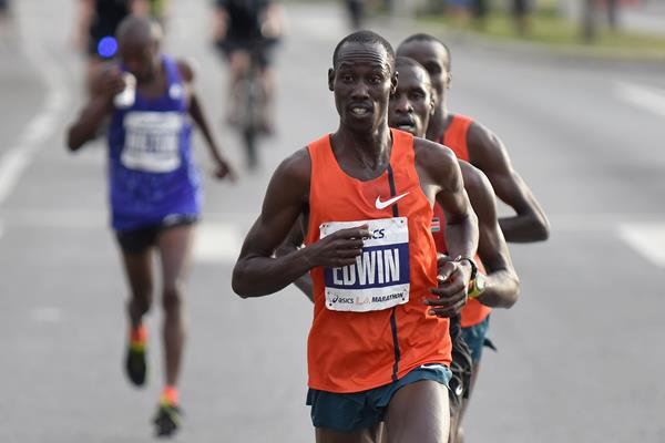 Kenyan marathon runner Edwin Kibet Koech (Getty Images)
