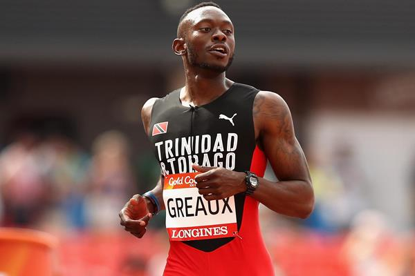 Kyle Greaux in action at the 2018 Commonwealth Games (Getty Images)
