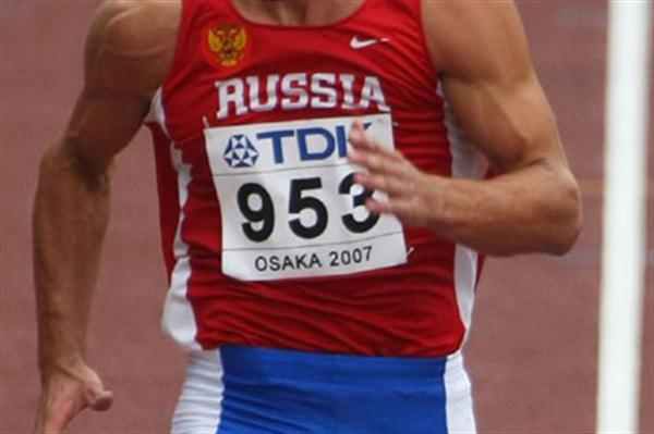 Aleksey Drozdov in the Osaka Decathlon where he finished fourth (Bongarts)