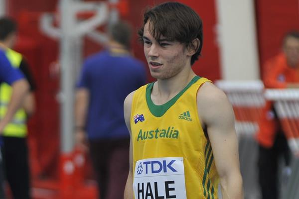 Australian sprinter Jack Hale (Getty Images)