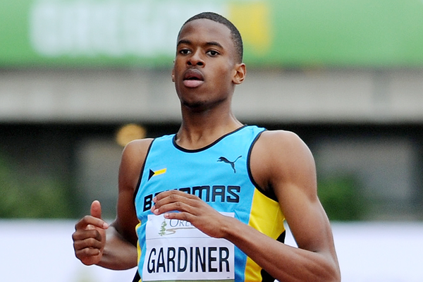 Bahamian sprinter Steven Gardiner (Getty Images)