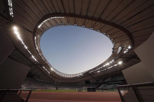 General view of Khalifa International Stadium in Doha (Getty Images)