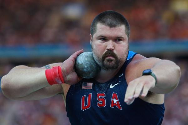 USA's Christian Cantwell wins his first world outdoor title in a thrilling Shot Put competition (Getty Images)
