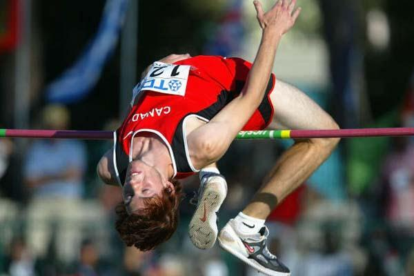 Michael Mason of Canada wins High Jump final (Getty Images)