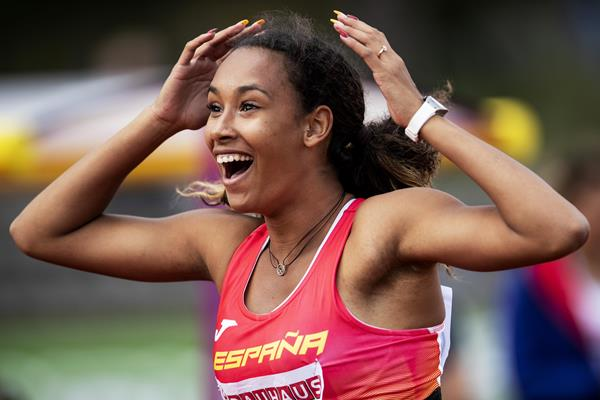 Spanish heptathlete Maria Vicente (Getty Images)