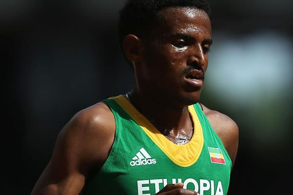 Hagos Gebrhiwet in the 5000m at the IAAF World Championships Beijing 2015 (Getty Images)