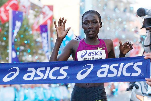 Linet Masai regains her title at the Dam tot Damloop (Organisers)