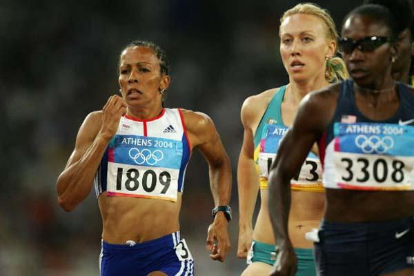 Kelly Holmes of Great Britain in the women's 800m (Getty Images)