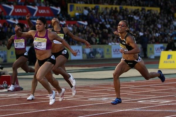 Priscilla Lopes-Schliep sets meet record at Aviva London Grand Prix - Samsung Diamond League (Getty Images)