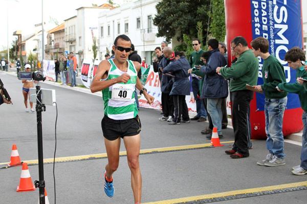Portugal's João Vieira wins the men's 20km race walk in Rio Maior (Rui Correia/Samuel Valerio)