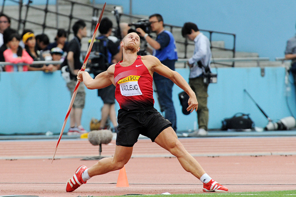 Czech javelin thrower Jakub Vadlejch (Getty Images)