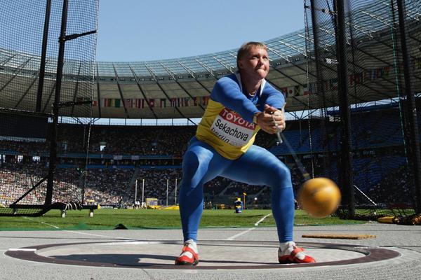 Ukrainian hammer thrower Iryna Sekachova (Getty Images)