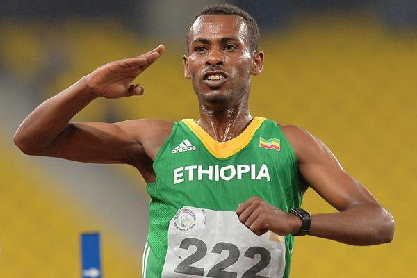 Ethiopian distance runner Getaneh Molla (AFP / Getty Images)