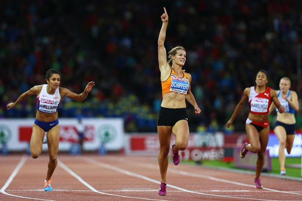 Dafne Schippers wins the 200m at the European Championships (Getty Images)