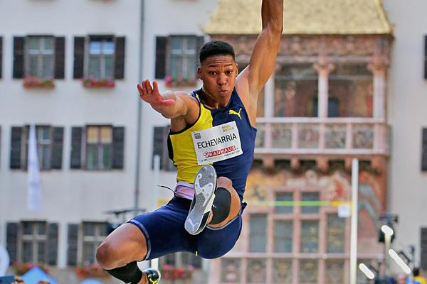 Juan Miguel Echevarria in action at the Golden Fly series event in Innsbruck (Organisers)