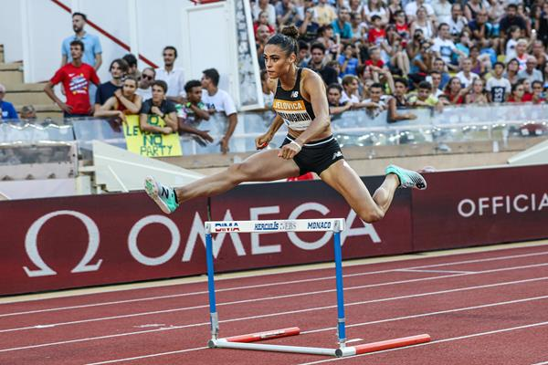 Another Diamond League victory for Sydney McLaughlin, this time in Monaco (Philippe Fitte)