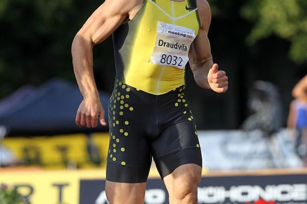 Lithuanian Darius Draudvila, the overnight leader in Kladno (graf.cz)