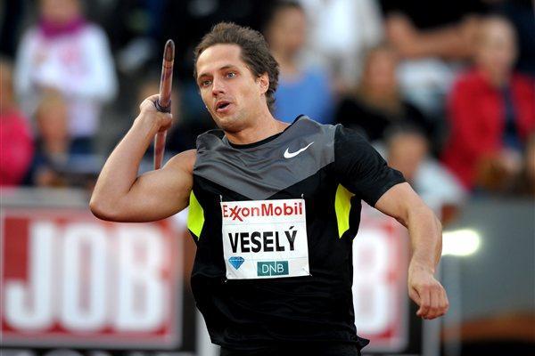 Vitezslav Vesely breaks through 88m barrier at the 2012 Diamond League meeting in Oslo (Mark Shearman)