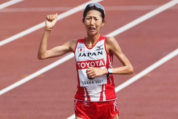 Japanese marathon runner Reiko Tosa (Getty Images)