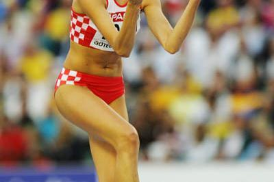 Blanka Vlasic in Gothenburg (Getty Images)