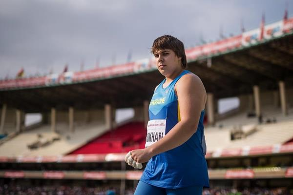 Mykhaylo Kokhan in the hammer at the IAAF World U18 Championships Nairobi 2017 (Getty Images)