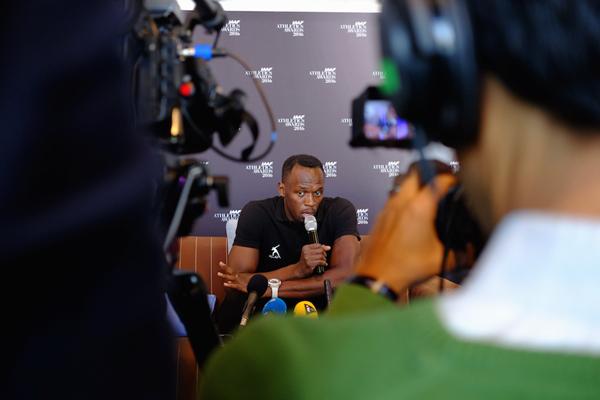 Usain Bolt Press Points ()