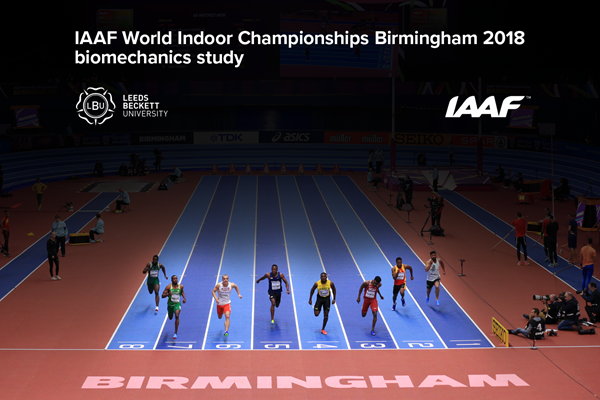 IAAF World Indoor Championships Birmingham 2018 biomechanics study (Getty Images)