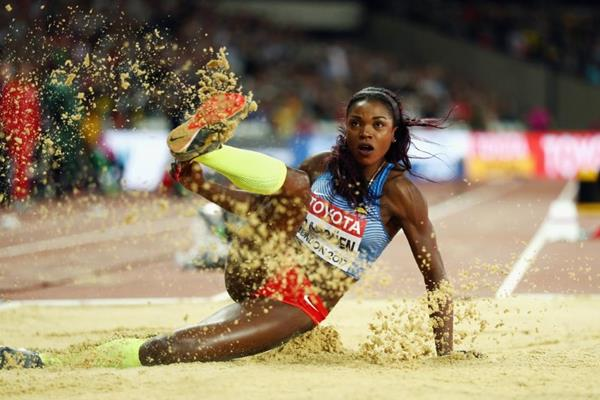 Caterine Ibarguen at the IAAF World Championships London 2017 (Getty Images)
