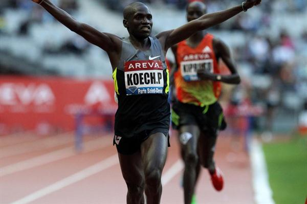 Paul Kipsiele Koech takes 8:00.57 victory in Paris (Jean-Pierre Durand)